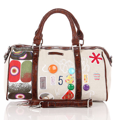 bags - bowler-cream-retro-fun-handbags, ladiesbags