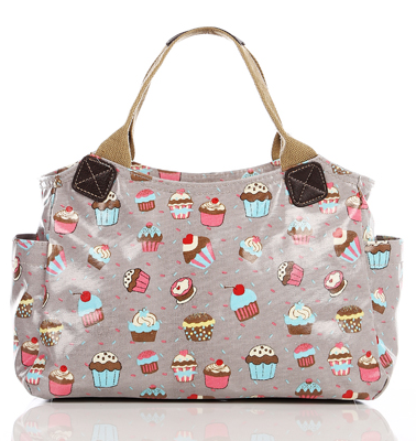 grey-cupcake-handbags for ladies, greyhandbags