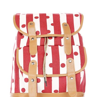 red-polka-dots-rucksacks-kids-messengerbags-college-children-backpacks-gymbags