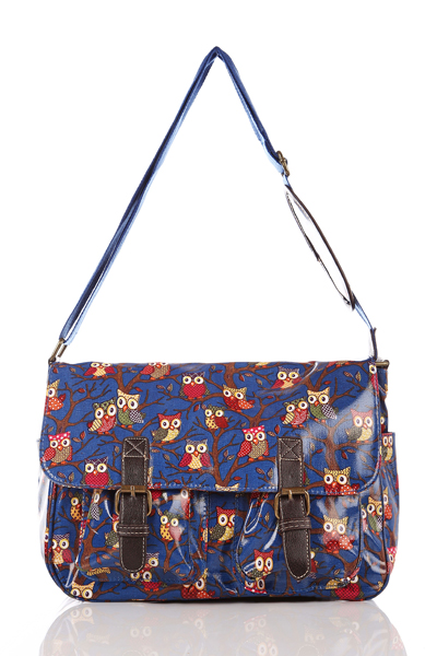 BLUE MESSENGER SATCHELS - ON SALE