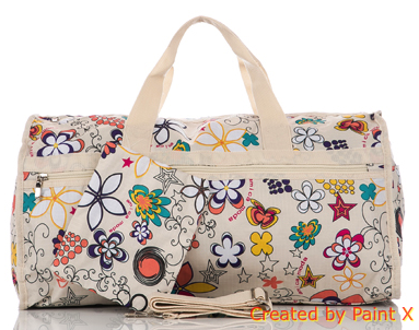 NEW - Floral Travel Bag For £16.99 + with Purse!
