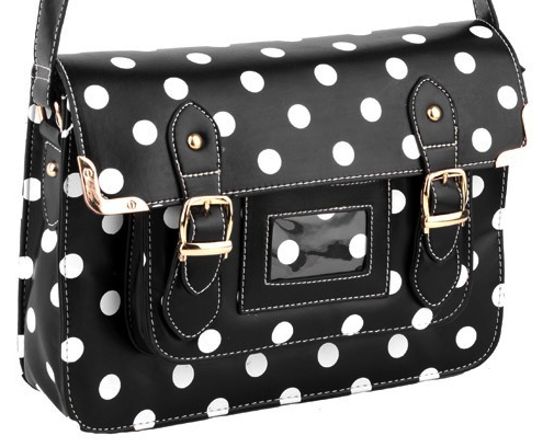 blackpolkadotsatchel
