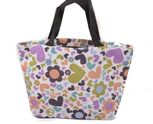 flower-tote-pincnic-bags