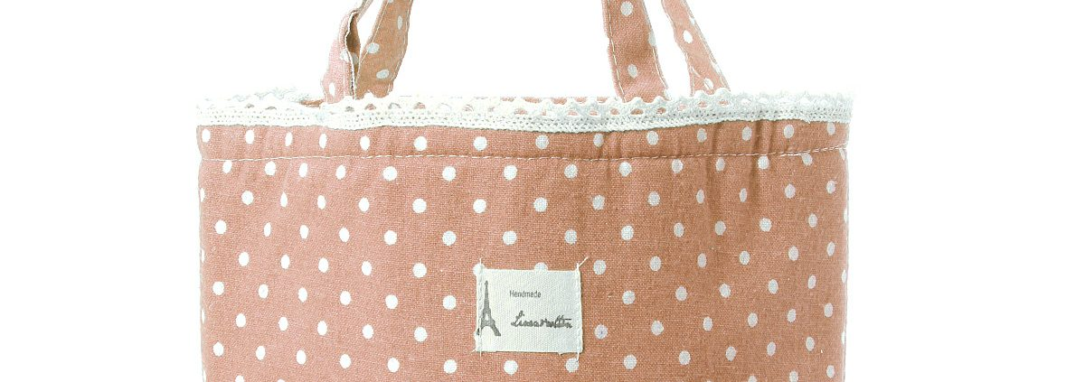 pink-Lunch Picnic Carry Tote Pouch Bag Drawstring Thermal Cooler Waterproof Insulated