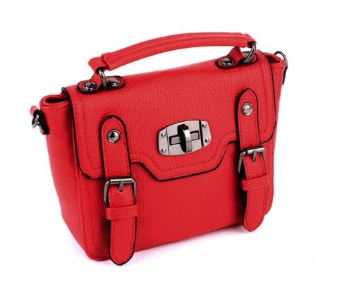 red-mini-faux leather-bags