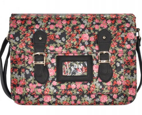 BLACK-FLOWER-SATCHEL-CAMBRIDGE