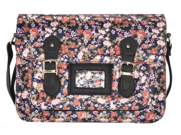 Flower-satchels-blue-flowers-handbags-for-ladies
