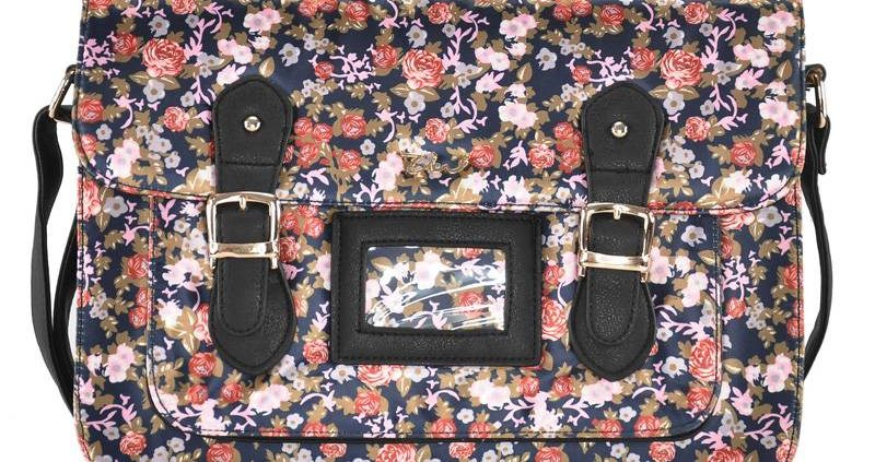 Flower-satchels-blue-flowers-handbags-for-ladies