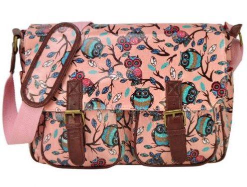 pink-owl-print-handbags