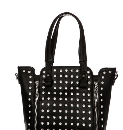 Diamante Encrusted & Zip Trim Tote Bag...£16.99