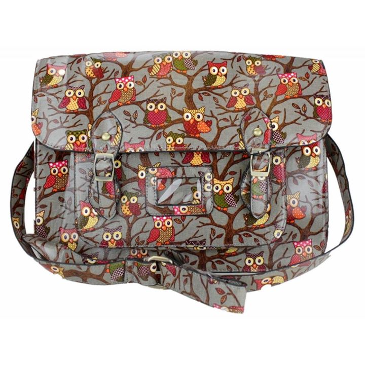 oilcloth messenger satchel handbags