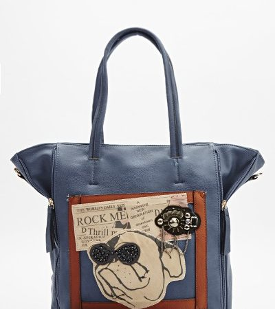 embellished-dog-print-handbag-blue-