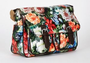 GREEN-FLORAL-SATCHEL