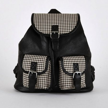 black-dogtooth-bags