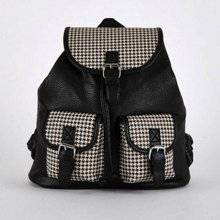 black-dogtooth-bags