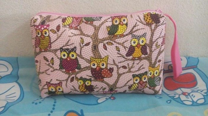 Owl Style Design Pencil Case/Cosmetics bag.