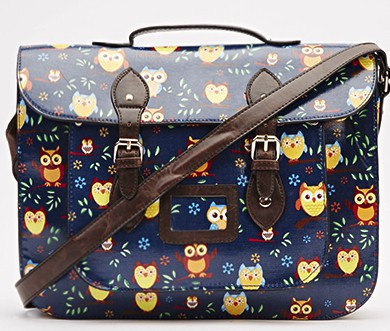 blue - large-owl-print-across-bag-blue-bags