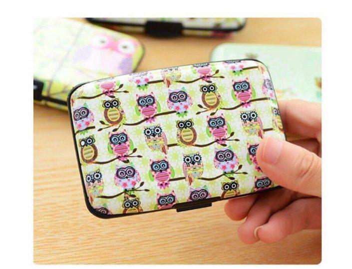 Business ID Credit Card Wallet Holder Plastic Pocket Case Box Hottest