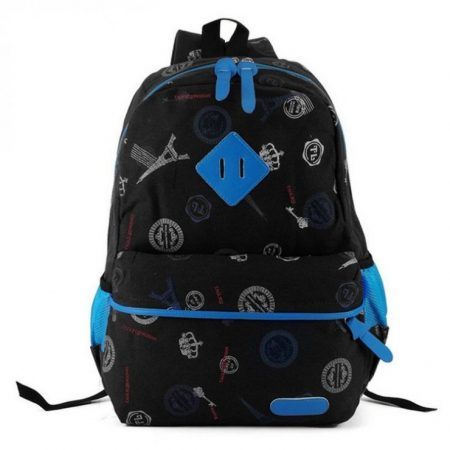 Black Fashion Backback Rucksack School Bag