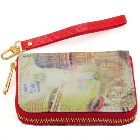 Classical building Vintage Short Women Wallet Purse – FREE POSTAGE!