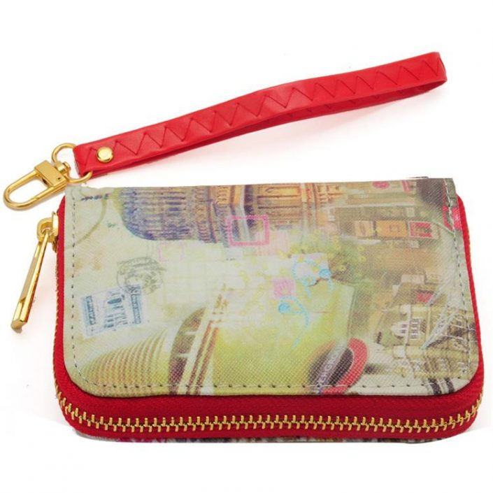 Classical building Vintage Short Women Wallet Purse – FREE POSTAGE!