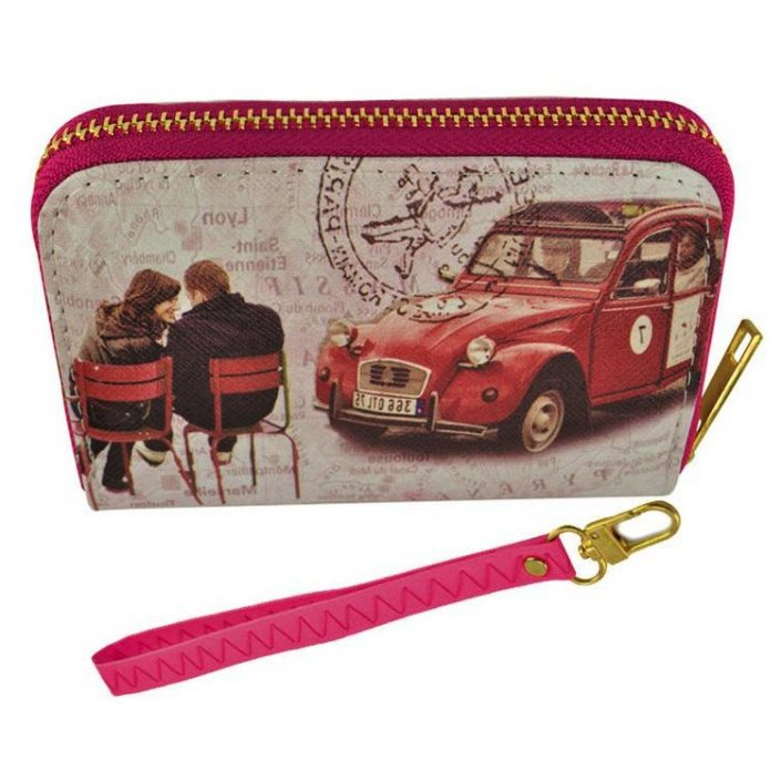Short Women Wallet Paris Purse
