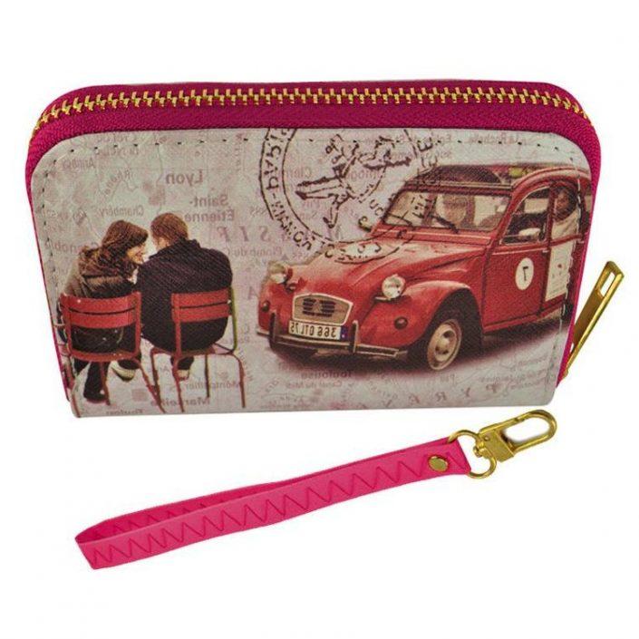 Short Women Wallet Paris Purse