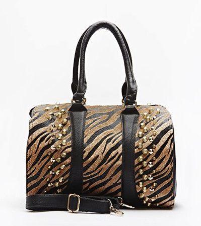 animal-print-studded-bowler-bag-brown-