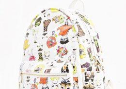 Cat Cartoon Backpack