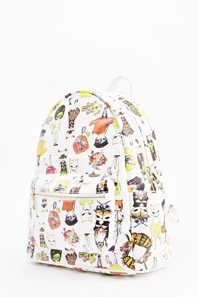 Cat Cartoon Backpack