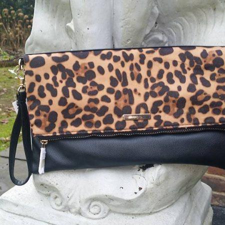 Leopard bag - Folds away