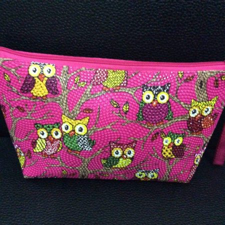 Owl Design Style Pencil Case/Cosmetics bag