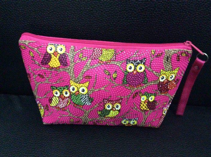 Owl Design Style Pencil Case/Cosmetics bag