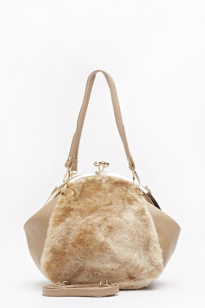 clip-top-faux-fur-front-bag-beige