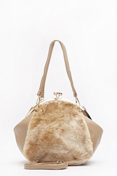clip-top-faux-fur-front-bag-beige