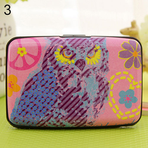 CHARMING THIN OWL MULTILAYERS BAG POCKET ID CREDIT BUS CARD WALLET HOLDER CASE