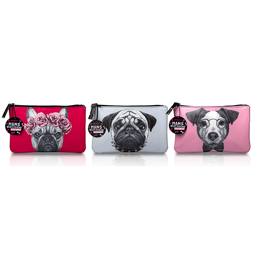 GREY Mad beauty dogs handy bag