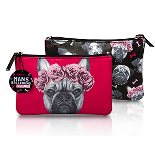 Mad beauty dogs handy bag - jack russell RED