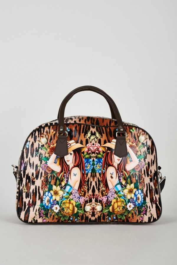 Elegant Ladies Weekend Travel Bag Handbags Christmas