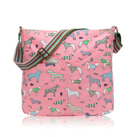 dog-printed-pink-crossbody-bag
