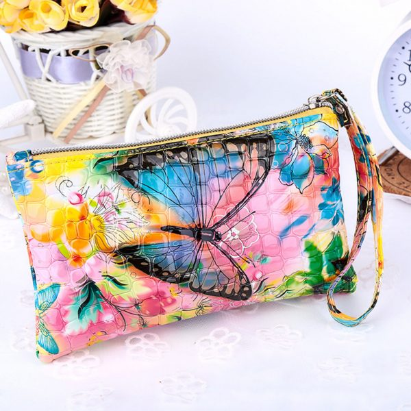 women-lady-pu-leather-coin-bag-case-card-holder-phone-zip-clutch-wallet-purse