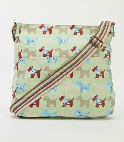dog-print-green-bag-green