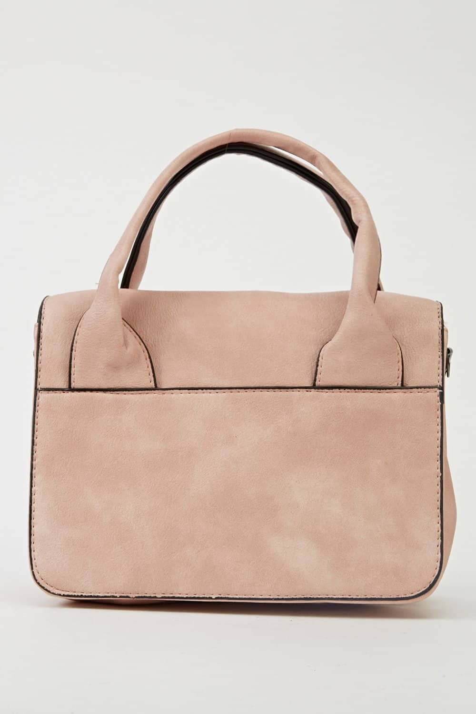 Small Bag Large Buckle Side Black Handbags And