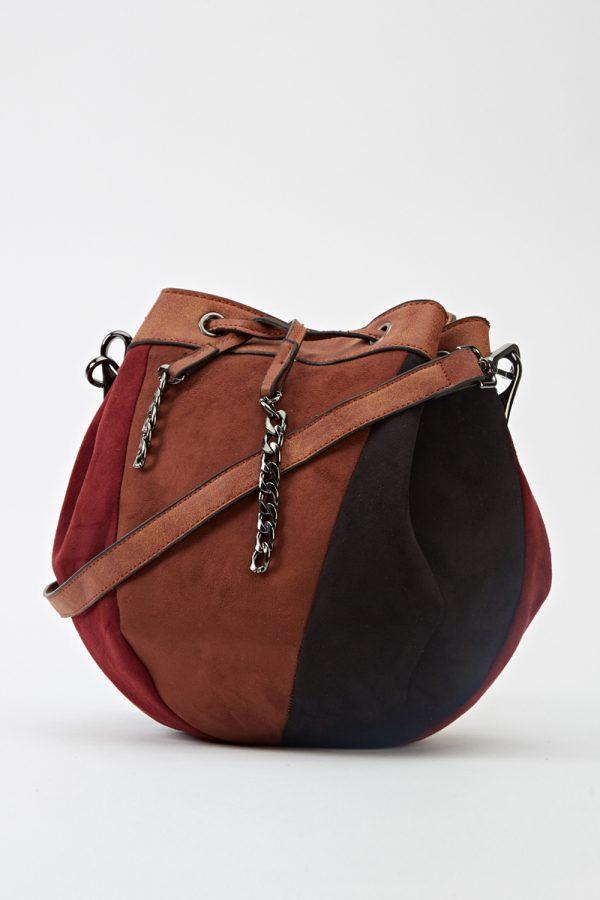 Multi Tone Pouch Bag