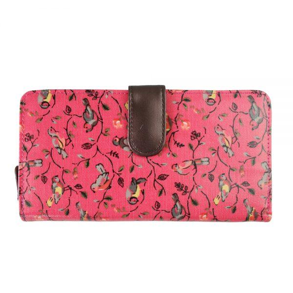 Miss-Lulu-Women-Men-Boys-Girls-Bird-Flying-Animal-Oilcloth-Waterproof-Long-Purse-Coin-Wallet-Handbag