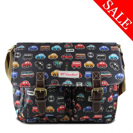 CLASSIC CAR BLACK SATCHELS MESSENGER BAGS CROSS-BODY BAGS COLLEGE AND SCHOOL BAGS
