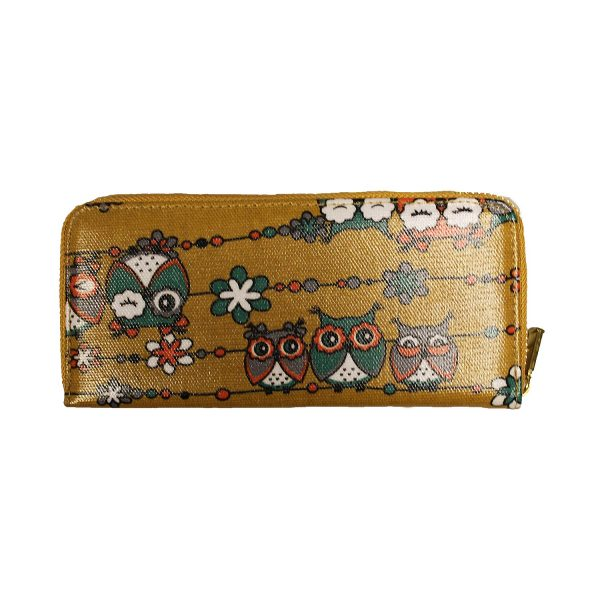 Single Zip Purse - OWL FRIENDS