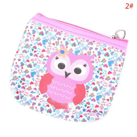 Womens Fashion Mini Owl Wallet Card Holder Case Coin Purse