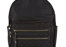 black-quilted-pocket-front-backpack