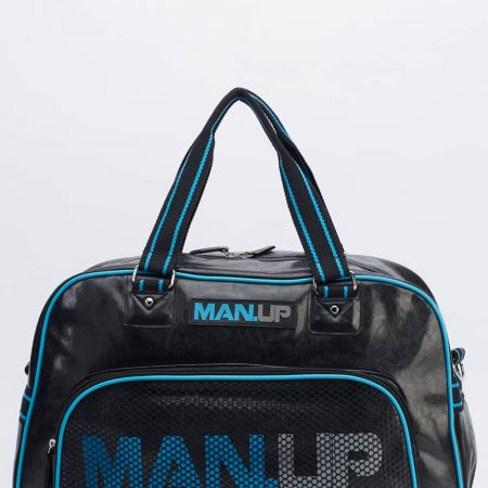 Black Mens Gym Holdall Bag